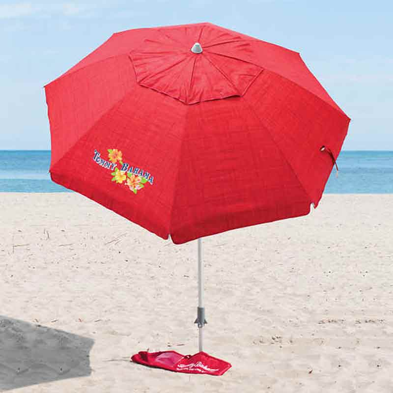 Enjoy Relaxing In Beach With Tommy Bahama Beach Umbrella
