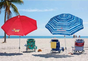 2017 Tommy Bahama 7' Beach Umbrella