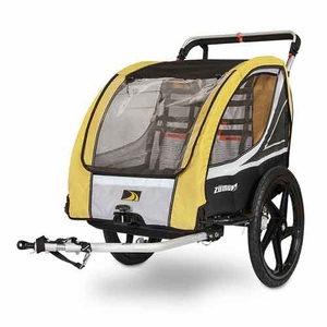 3-in-1 Bike Trailer with Jogger and Stroller Conversion