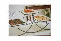 3 Tier Swivel Buffet Server