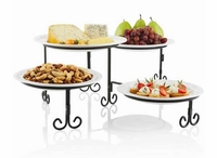 4 tier buffet server