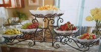 5 Tiered Buffet Server with dish