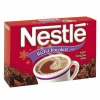 50 - 1 ozs Packets of Nestle Rich Hot Chocolate