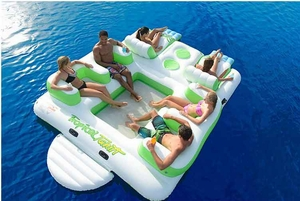 6 Person Caribbean Floating Island
