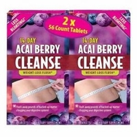 Acai Berry Cleanse 2 / 56 ct. boxes
