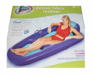 Aqua Leisure Deluxe floating recliner lounge