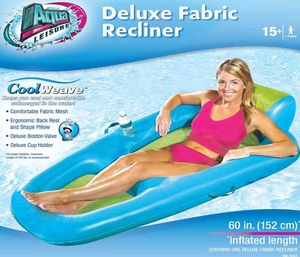 Aqua Leisure Private Lounger by Cool Weave