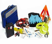 Auto Roasside Safety Kit with Air Compressor