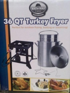 Backyard Classic 36 Qt. Turkey Fryer