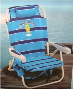 bahama beach chair - Blue stripes
