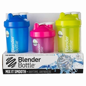 Blender Bottle Classic 3 Leak-Proof Bottles