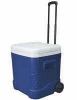 Blue Igloo Rolling Cooler - 60 qt.
