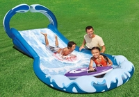 Blue N White Water Surf and Slide Play set