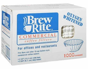 Brew Rite Commercial Coffee Filter 1000 count