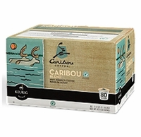 Caribou Coffee Blend K-Cup Packs - 80 ct.