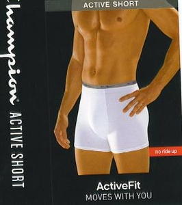Champion Active Fit No Ride up Underwear Boxer Brief 3 Pack