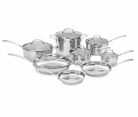 Cuisinart Classic 14-Piece Stainless Cookware Set