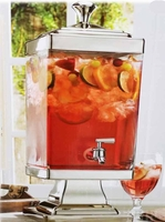 Fairmont beverage Dispenser by Shannon Crystal