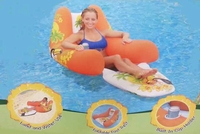 Floating Pool Lounger Orange