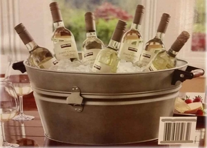 Galvanized Beverage tub with stand - Catalina Beverage tub