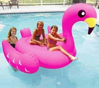 Giant inflatable Pool Floating Pink Flamingo