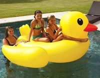 Giant Pool Floating Duck