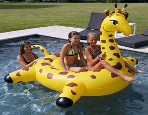 Giant Pool Floating Giraffe