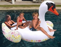 Giant Pool Floating Swan inflatable