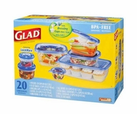 GladWare Containers Variety Pack - 20 count