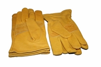 heavy duty cowhide leather gloves-leather glove 2 pairs