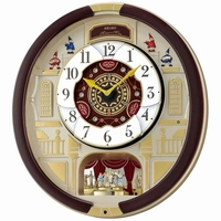 Holiday Seiko Melodies Motion wall Clock