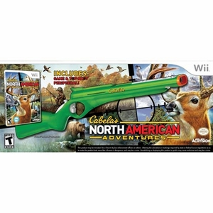 hunting games for wii - North American Adventures for wii