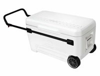 Igloo Roller Cooler - White - 110 Qt
