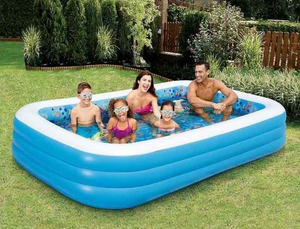Inflatable 3D Family Pool