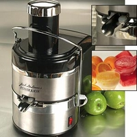 Jack LaLanne Stainless Steel Deluxe Power Juicer