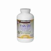 Kirkland Signature Natural Fish Oil Concentrate with Omega-3 Fatty Aci