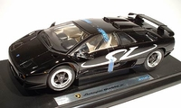 Lamborghini Diablo SV in Black - Die cast Toy Car