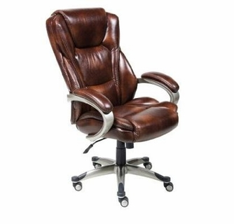 Lane Executive Leather And Tall Chair