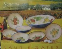 Laurie Gates Antilles 7 pc Dinner ware Set - Sonoma