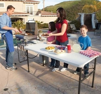 Lifetime Folding Tailgating Table
