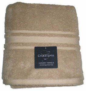 Luxury Bath charisma Towel - 100% Hygro Cotton - Linen