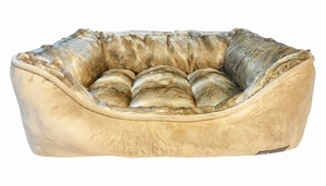Luxury Pet Bed Lounger by Canine Creations