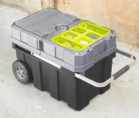 "Masterloader Tool storage container with 18"" Bonus Cantilever Box"