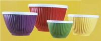 Melamine Bowl Set with lids 4 Piece New 2014 BPA free