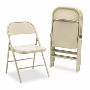 Metal Folding Chair 4PK - cosco