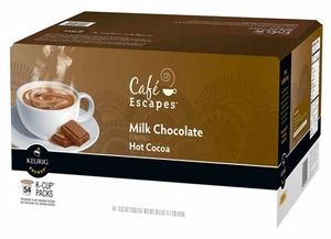 Milk Chocolate Hot Cocoa K-Cup Packs - 54 ct.