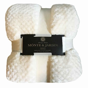 Monte and Jardin King Blankets Luxury Linens