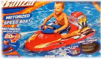 Motorized Bumper Boat with Motorized water blaster