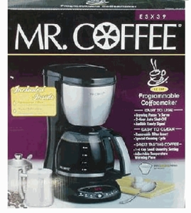 MR. Coffee 12 Cup Programmable Coffeemaker ESX39