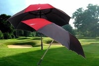 "Nautica Golf Umbrella Set 2 Pack 68"" & 56"" Gel Grip"